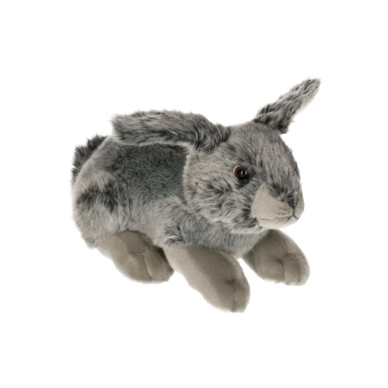 a691100968f939 Pluche konijn grijs, Konijn artikelen - Knuffels-shop.nl